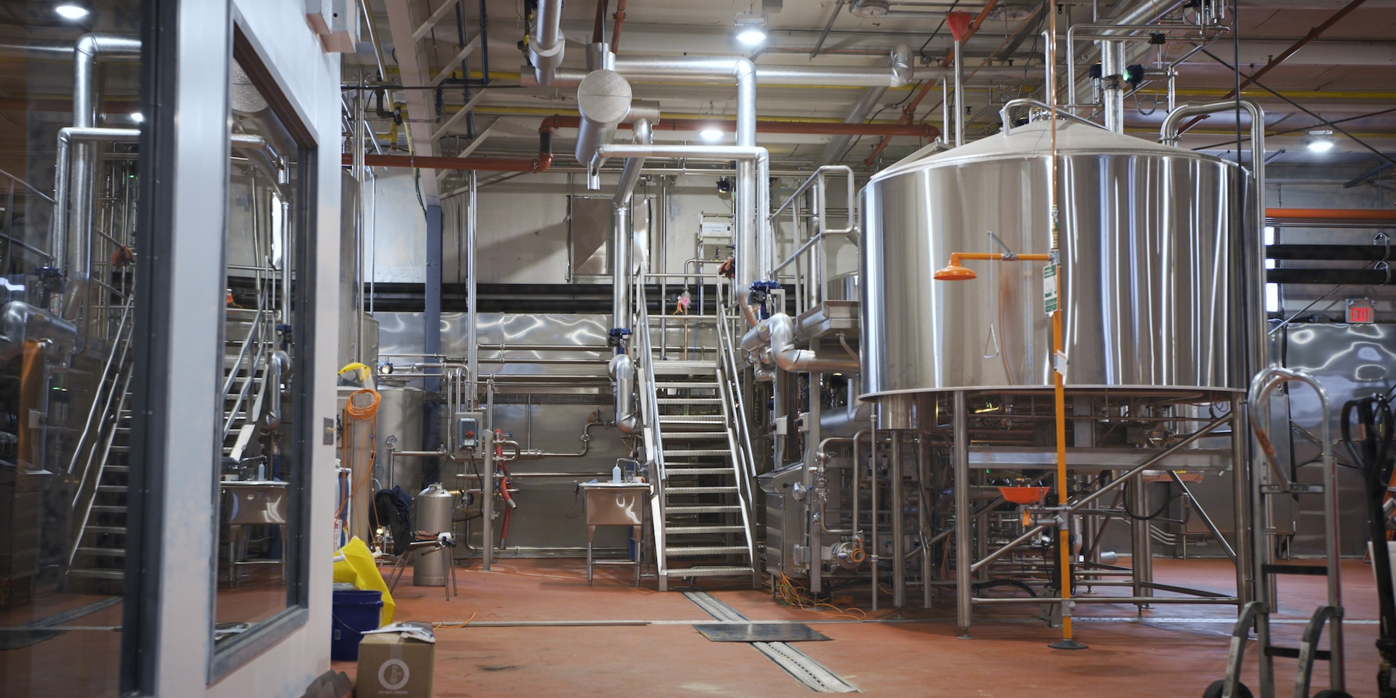 Interior of Spearhead Brewery in Kingston ON