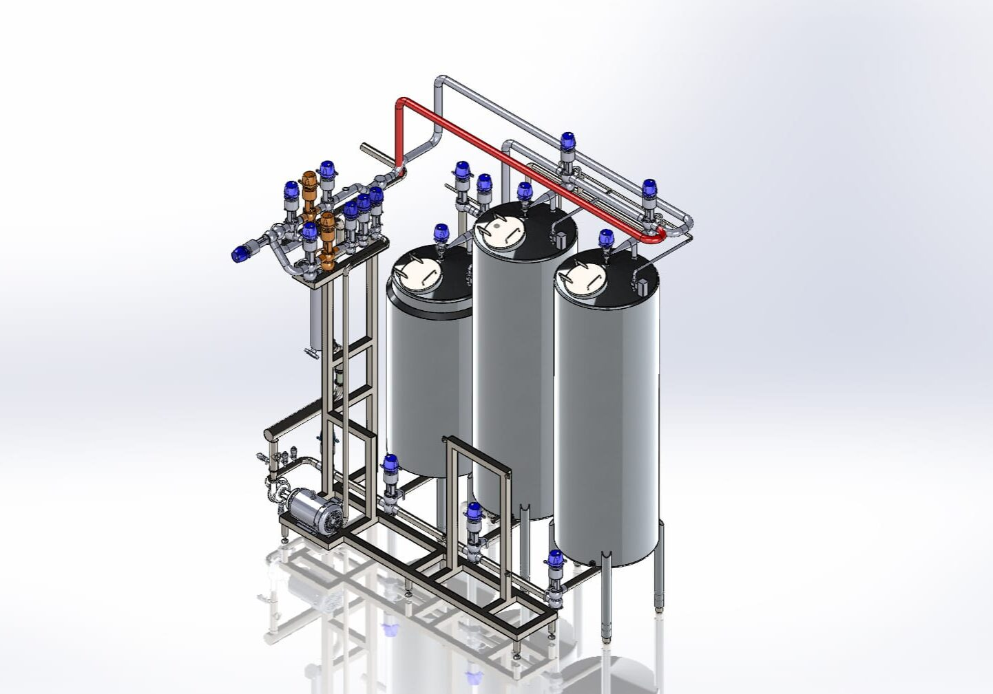 CIp skid layout from Pure Ingenuity.